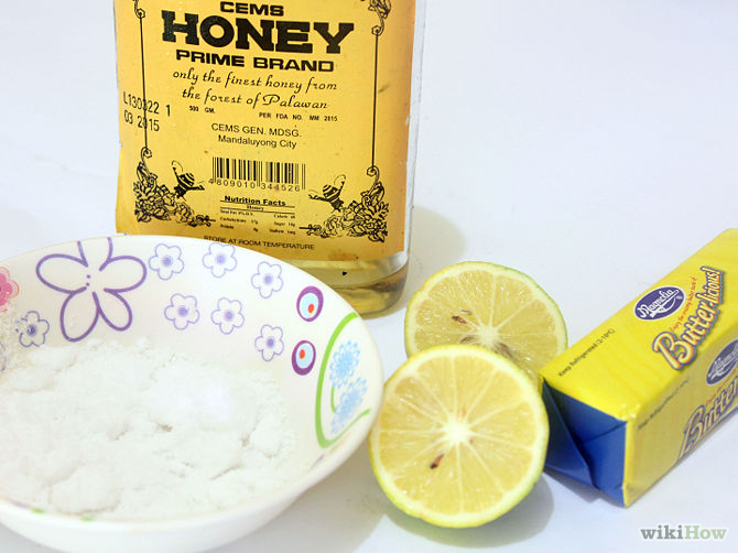 670px-Make-a-Honey-and-Lemon-Face-Mask-Step-1