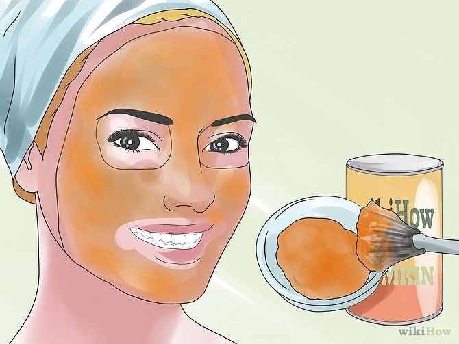 All natural facial masks