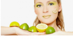 masque citron