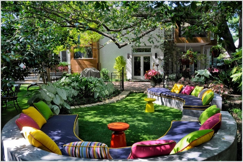 15 Cheerful Ideas to Add Color to Your Garden (1)