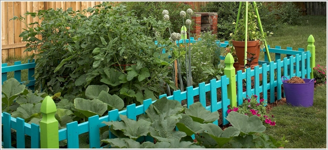 15 Cheerful Ideas to Add Color to Your Garden (12)