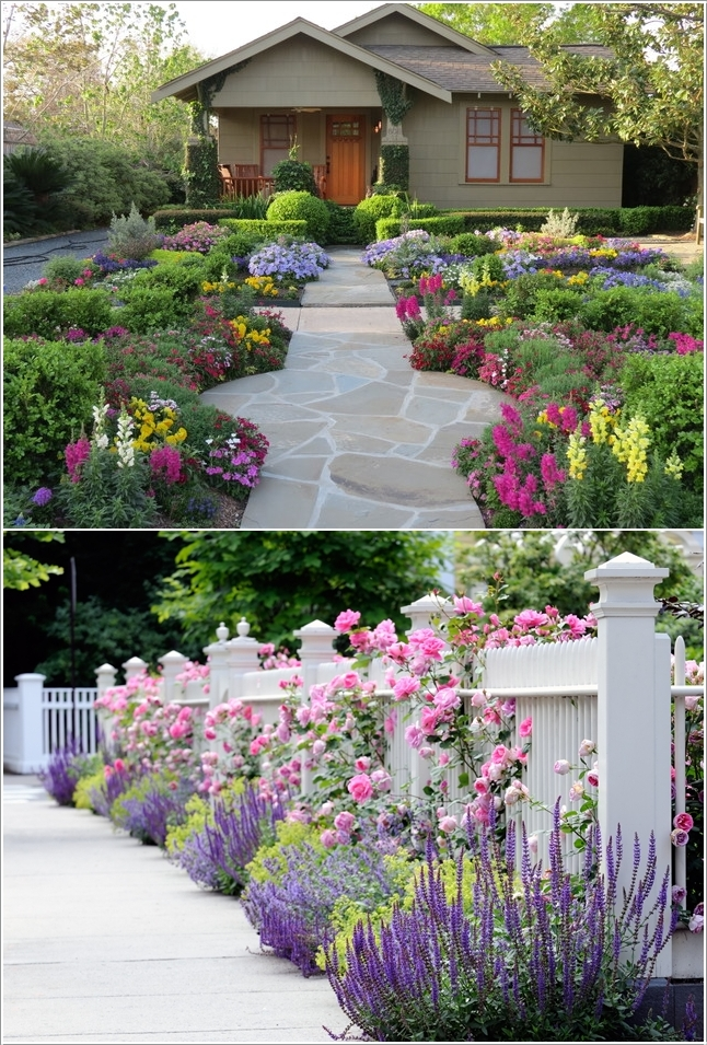 15 Cheerful Ideas to Add Color to Your Garden (15)