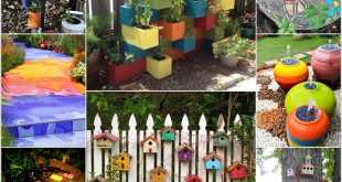 15 Cheerful Ideas to Add Color to Your Garden (16)