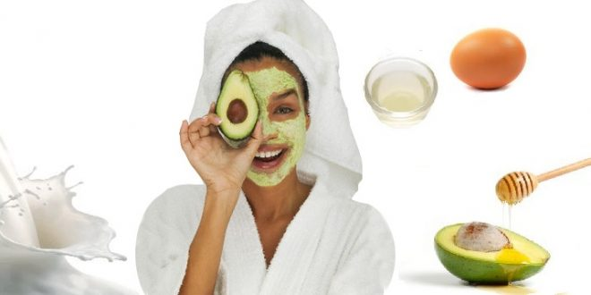 Egg-White-Face-Mask-with-Avocado-for-Dry