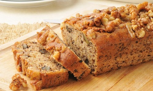 Banana-And-Walnut-Bread
