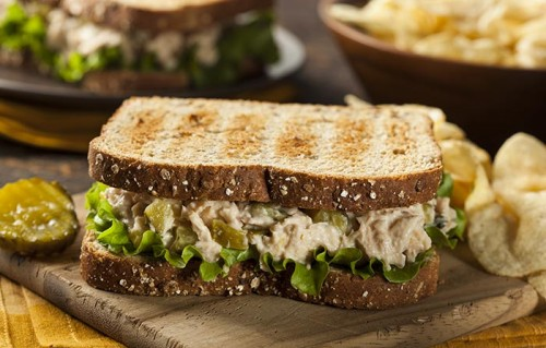 Tuna-Salad-Toast