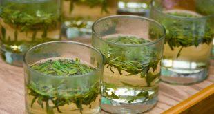 جربي ديتوكس الشاي الأخضر والزنجبيل لبشرة متوهجة