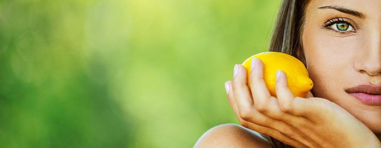 قناع قشور الليمون