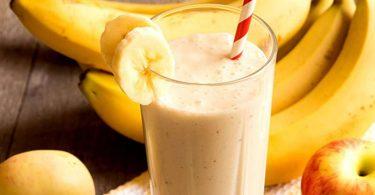مشروب الموز الزنجبيل